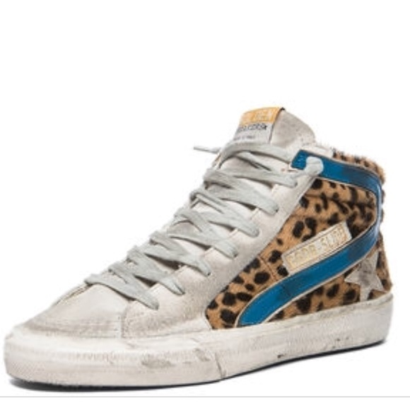 d50412868dd2 Golden Goose Shoes - Golden Goose Deluxe Brand Slide Sneakers